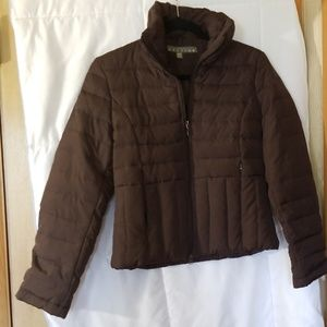 Kenneth Cole Reaction down and feather jacket